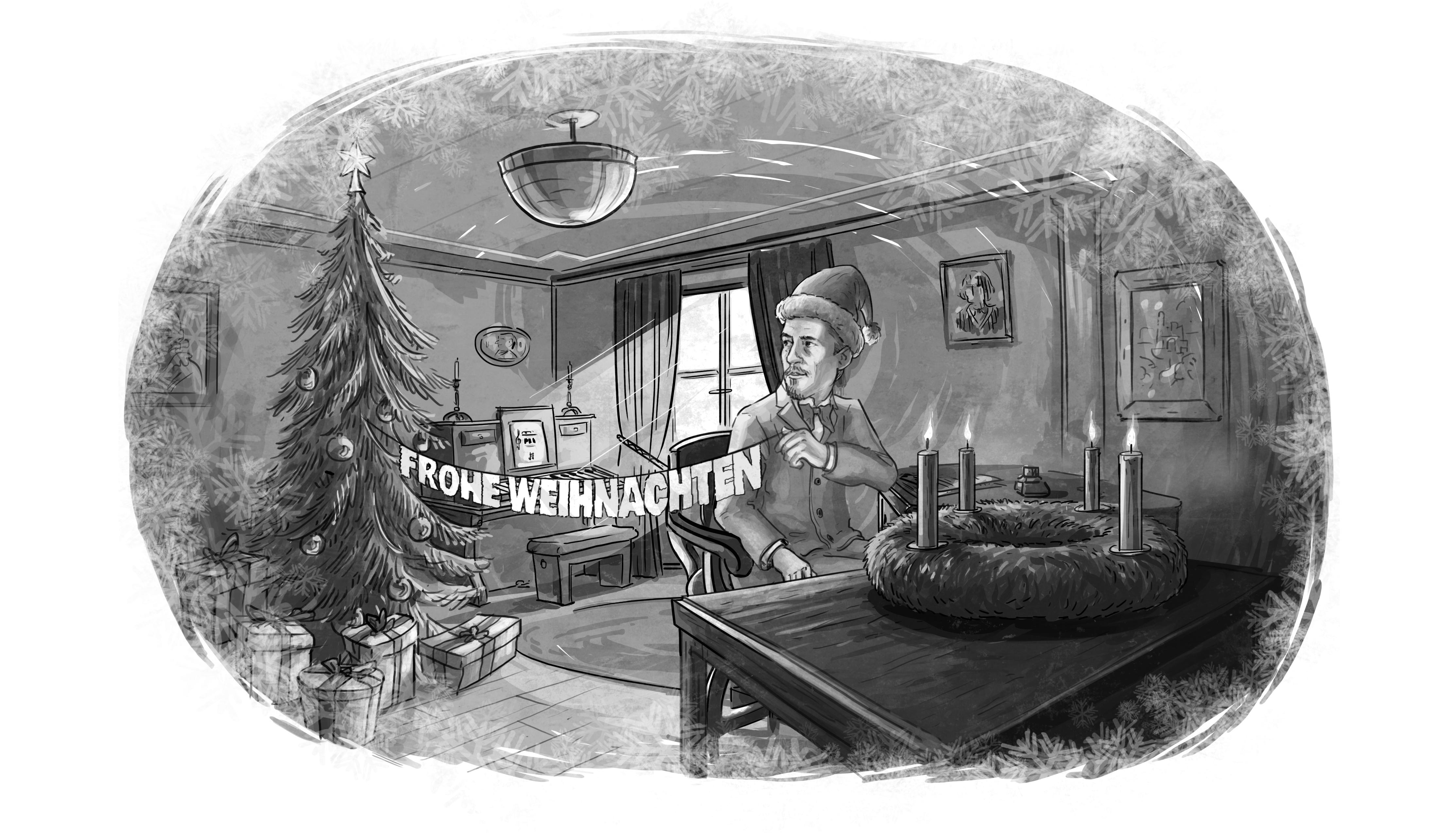 Weihnachts-Special auf der IHWA-LiedBÜHNE