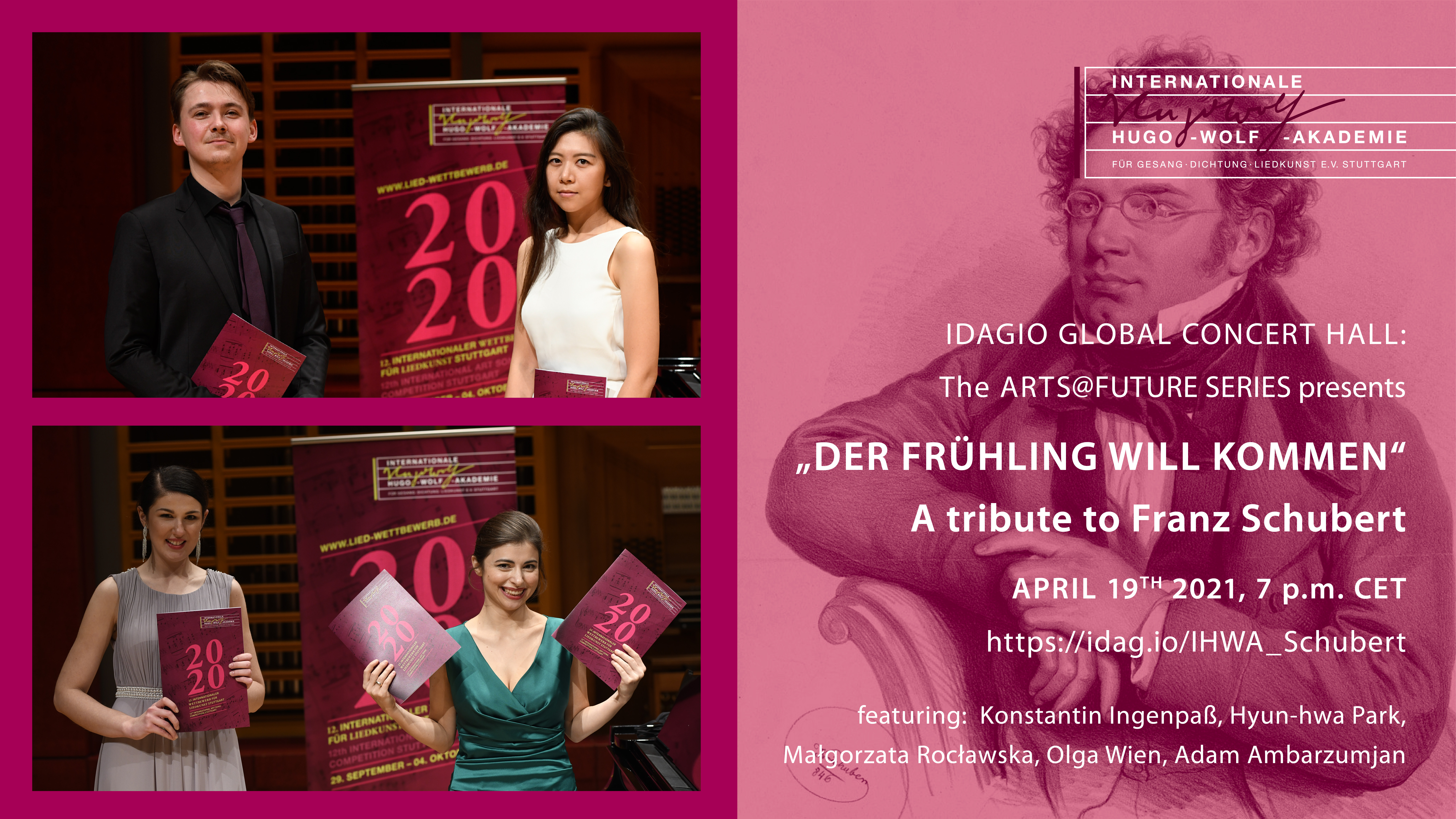 IDAGIO Global Concert Hall - Schubert Special
