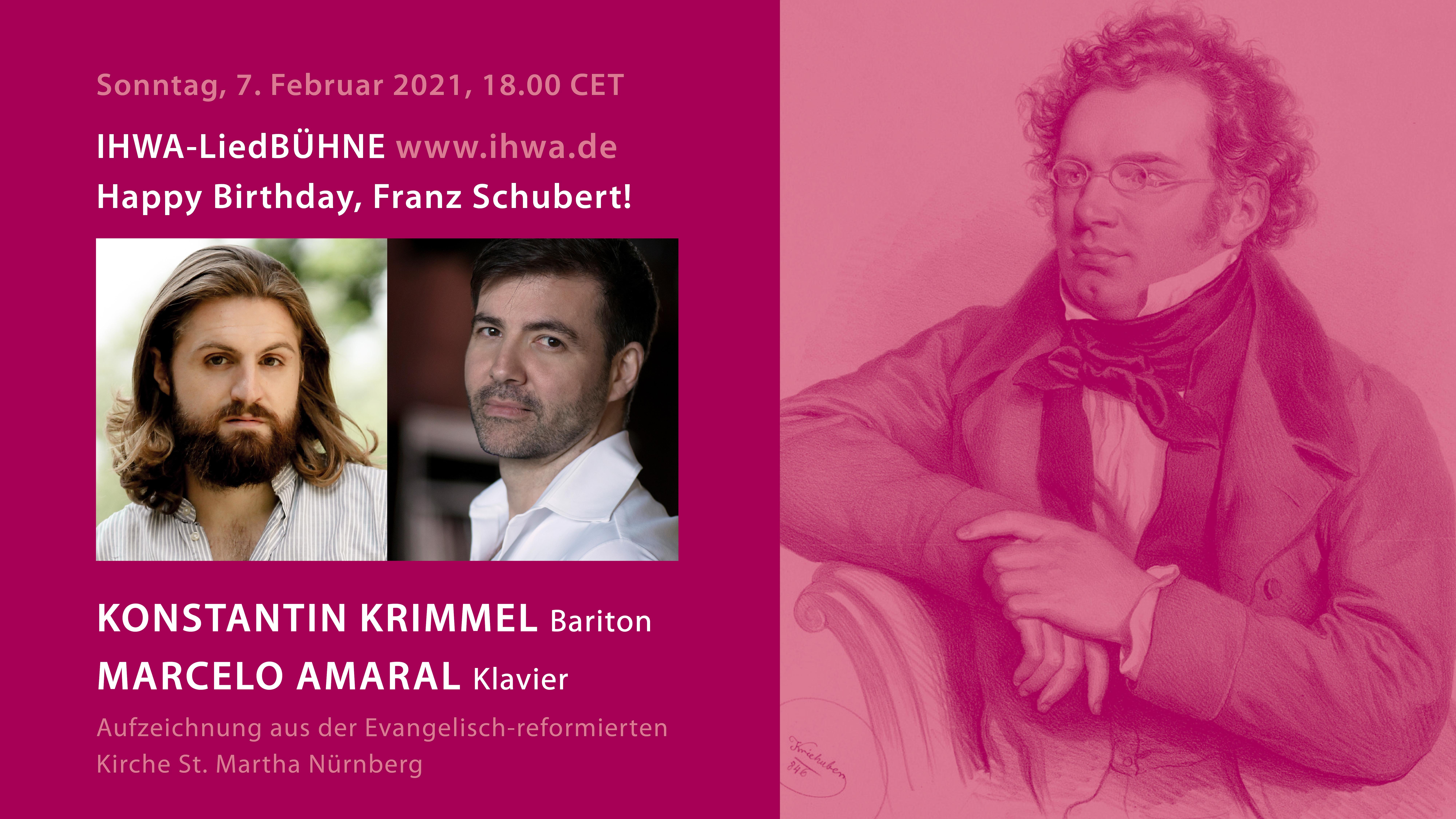 LiedBÜHNE: Schubert