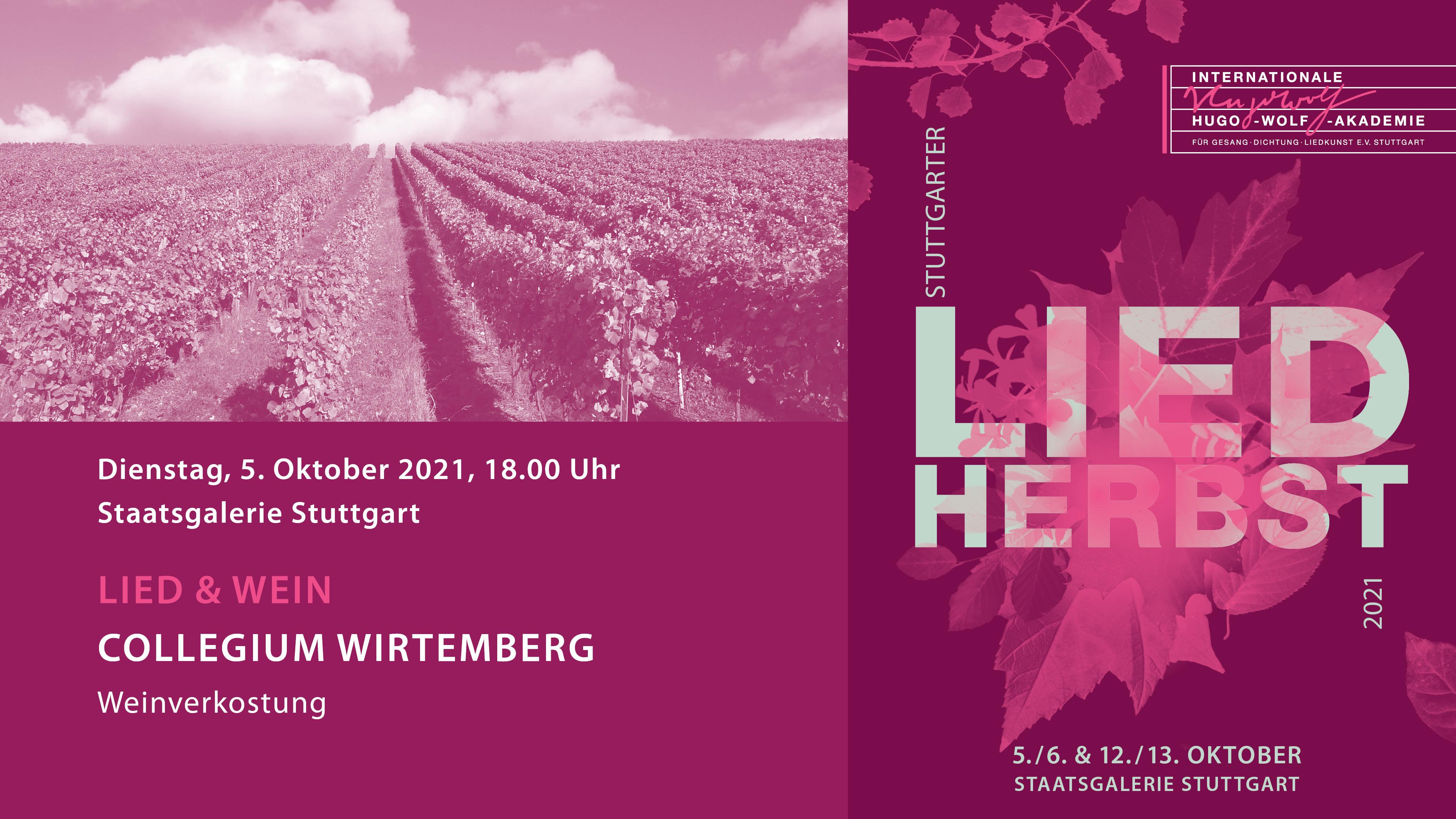 LiedHERBST: Lied & Wein I