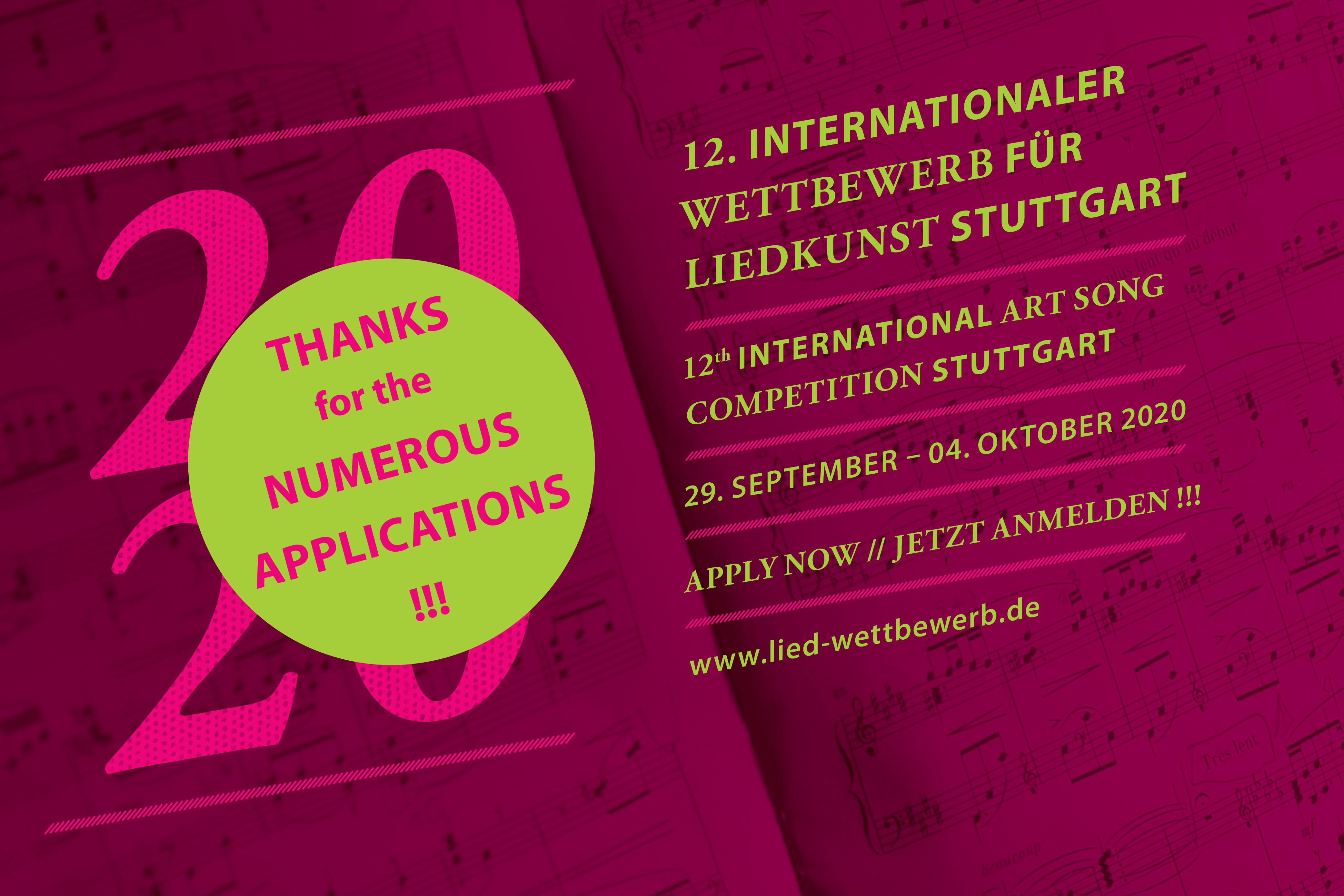 Internationaler Wettbewerb für Liedkunst 2020